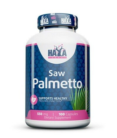 Haya Labs Saw Palmetto 550mg 100 capsule